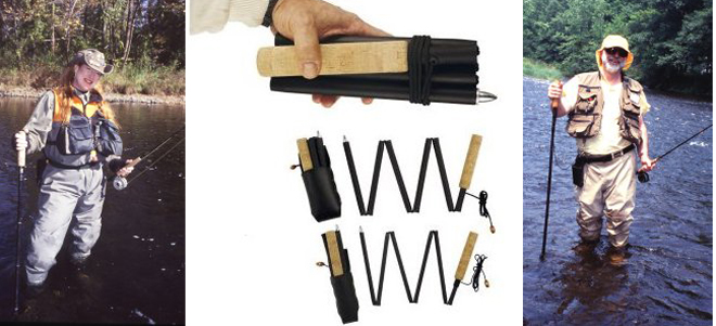 collapsible walking sticks
